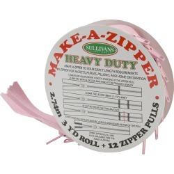 Make A Zipper Kit Heavy Duty - Pink