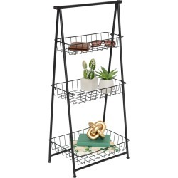 Honey Can Do 3 Tier Folding A Frame Entryway Shelf