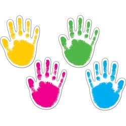 Handprints Accents 42 pk, Set Of 6 Packs