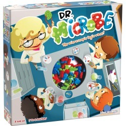 Blue Orange Games Dr. Microbe Game, Ages 8 and Up, 2 4 Players