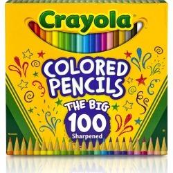 Crayola Colored Pencils 100 Pkg