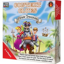 Context CluesPirate Treasure Game, Red Levels 2.0 3.5