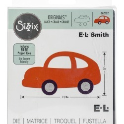 Sizzix Originals Large Die - Car #3 By E.L. Smith