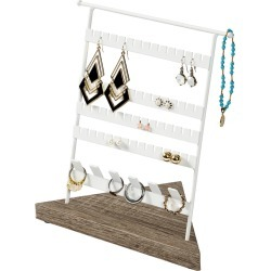 Honey Can Do Jewelry Stand for Earrings & Rings