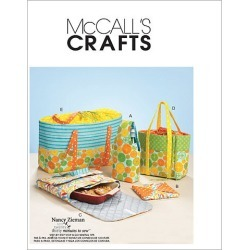 McCall's Crafts Totes & Bags - M6338