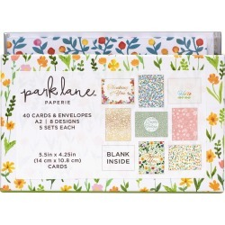 Park Lane Card & Envelope Sets Wild Flourish