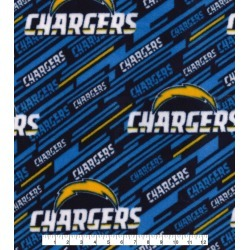 Los Angeles Chargers Fleece Fabric Logo - 2 Yrds Min found on Bargain Bro Philippines from JOANN Stores for $13.99