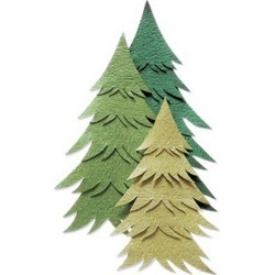 Jolee's By You - Pine Tree Green - Paper Crafting - Scrapbook Supplies - Embellishments