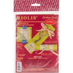 RIOLIS Combopu Cama Needlework Travel Kit Forget Me Not