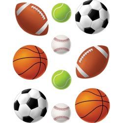Sports Balls Accents 30 pk, Set Of 6 Packs
