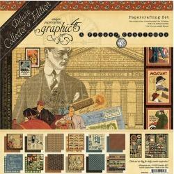 Graphic 45 A Proper Gentleman Deluxe Collectors Edition Kit