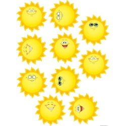 Happy Suns Accents 30 pk, Set Of 6 Packs