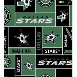 Dallas Stars Fleece Fabric Black found on Bargain Bro Philippines from JOANN Stores for $11.24