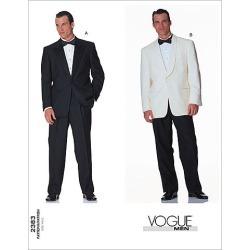 Vogue Patterns Mens Suits - V2383