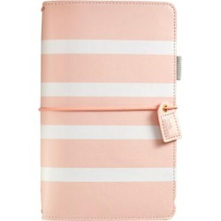 Webster's Pages Color Crush Travelers Notebook Blush Stripe found on Bargain Bro Philippines from JOANN Stores for $35.99