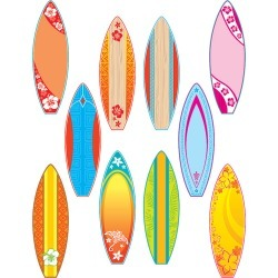 Surfboards Accents 30 pk, Set Of 6 Packs