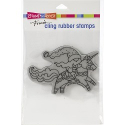 Stampendous Cling Stamp Unicorn Gnome found on Bargain Bro Philippines from JOANN Stores for $4.89