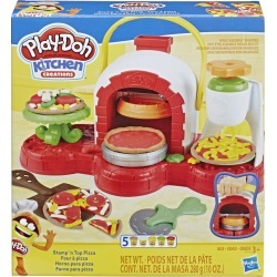 Play Doh Stamp n Top Pizza Set