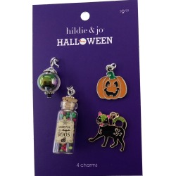 hildie & jo Halloween Cat and Potion Charms