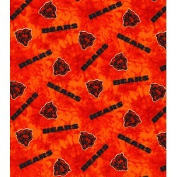 Chicago Bears Flannel Fabric 42