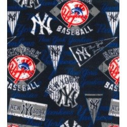 New York Yankees Fleece Fabric Vintage - 2 Yrds Min found on Bargain Bro Philippines from JOANN Stores for $11.24