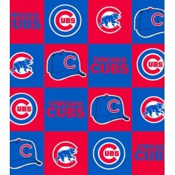 Chicago Cubs Fleece Fabric Block - 2 Yrds Min found on Bargain Bro Philippines from JOANN Stores for $11.24