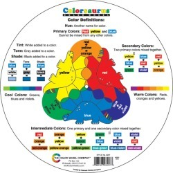 Color Wheel Co Coloraurus Children's Color Wheel found on Bargain Bro Philippines from JOANN Stores for $6.99