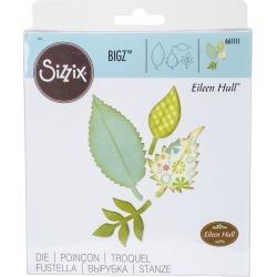 Sizzix Bigz Eileen Hull Die - Spring Leaves - Paper Crafting -...