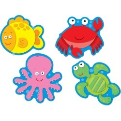 Sea Life Accents 36 pk, Set Of 6 Packs