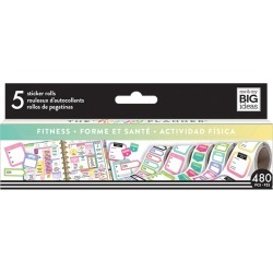 The Happy Planner Sticker Rolls Fitness found on Bargain Bro India from JOANN Stores for $8.24