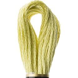 DMC Cotton Embroidery Floss Group #3 Greens - 165 Light Moss Green