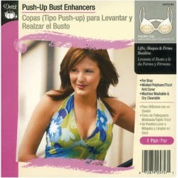 Dritz Push Up Bust Enhancers Fits A/B Cup - B/c
