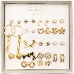 hildie & jo 16 - pair Gold Earrings 1