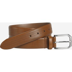 Johnston & Murphy Men's Micro Perf Belt - Tan - Size 42 found on Bargain Bro India from Johnston & Murphy for $69.50