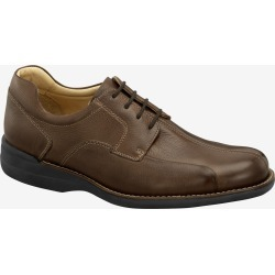Johnston & Murphy Men's Shuler Bicycle - Dark Brown Tumbled Calf - Size 11.5 - M found on Bargain Bro from Johnston & Murphy for USD $75.92