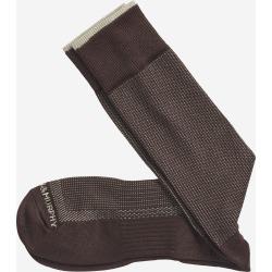 Johnston & Murphy Men's First In Comfort Classic Pin Dot Socks - Brown - Size Slack Length found on Bargain Bro from Johnston & Murphy for USD $10.64