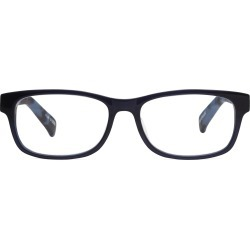 Johnston & Murphy Men's Rectangular Readers - Dark Navy - Size M (+2.00)