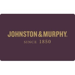 Johnston & Murphy undefined Traditional Gift Card - Size $25 found on Bargain Bro from Johnston & Murphy for USD $19.00