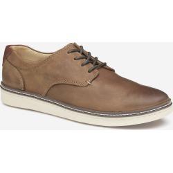 Johnston & Murphy Men's McGuffey Plain Toe Shoe - Tan Oiled Full Grain - Size 8 - M found on Bargain Bro from Johnston & Murphy for USD $98.04