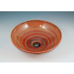 Vermont Art Sinks Delta Handthrown Stoneware Sink, 13inch W x 4inch H, Carnival found on Bargain Bro India from Kitchen Source for $473.80