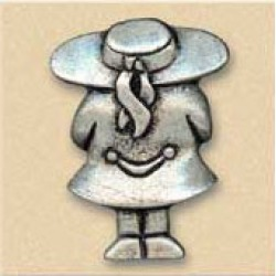 Dalka Girl With Hat Knob found on Bargain Bro Philippines from Kitchen Source for $6.78