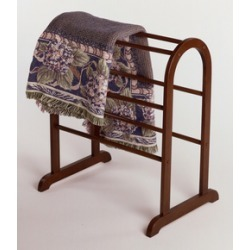 Winsome Wood Quilt Rack 19 W x 26 D x 30 H, Antique Walnut