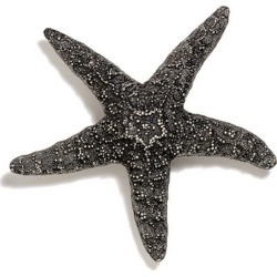 Modern Objects Starfish Knob (Large), 4 inch Diameter, Antique Pewter