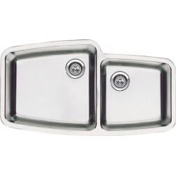 Blanco BlancoPerforma 1 & 3/4 Bowl, Undermount, Bowl Depth 10 & 9 found on Bargain Bro India from Kitchen Source for $1013.61