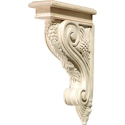 Hafele Corbel, grape, 2 inchW x 9-3/16 inchD x 12-3/4 inchH, maple found on Bargain Bro India from Kitchen Source for $155.68