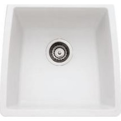 Blanco - Performa Series - Single Bowl Kitchen Sink, White found on Bargain Bro India from Kitchen Source for $437.50