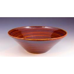 Vermont Art Sinks Uptown Handthrown Stoneware Sink, 13-1/2inch W x 4inch H, Iron White, Shown in Merlot found on Bargain Bro India from Kitchen Source for $504.70