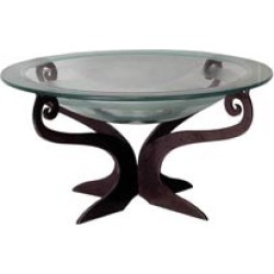 Cricket Forge Table Top Pedestal in Painted Steel