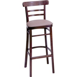 Economy Walnut Wood Chair with Grade