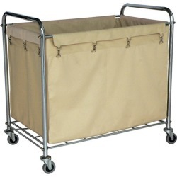 Universal Products Industrial Laundry Hamper Cart, 36-1/4 W x 22 D x 35 H found on Bargain Bro India from Kitchen Source for $151.05
